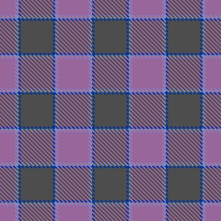Purple and Gray Tartan Plaid Scottish Seamless Pattern. Texture from tartan, plaid, tablecloths, shirts, clothes, dresses, bedding, blankets and other textile.