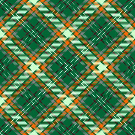 Green,Orange,Red and Gray Tartan Plaid Scottish Seamless Pattern. Texture from tartan, plaid, tablecloths, shirts, clothes, dresses, bedding, blankets and other textile.