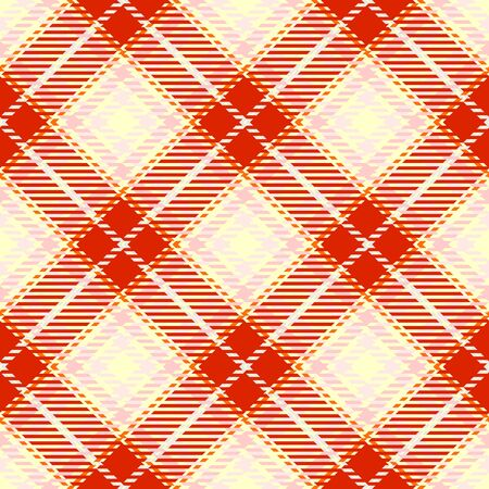 Red,Pink and Beige Tartan Plaid Scottish Seamless Pattern. Texture from tartan, plaid, tablecloths, shirts, clothes, dresses, bedding, blankets and other textile.