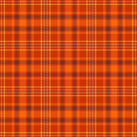 Dark Orange,Orange,Brown,Yellow and Blue Tartan Plaid Scottish Seamless Pattern. Texture from tartan, plaid, tablecloths, shirts, clothes, dresses, bedding, blankets and other textile. Çizim