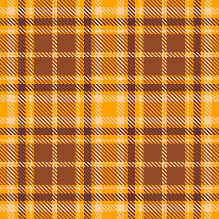 Yellow,Brown and Beige Tartan Plaid Scottish Seamless Pattern. Texture from tartan, plaid, tablecloths, shirts, clothes, dresses, bedding, blankets and other textile.