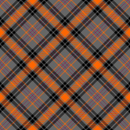 Gray,Orange,Black and Red Tartan Plaid Scottish Seamless Pattern. Texture from tartan, plaid, tablecloths, shirts, clothes, dresses, bedding, blankets and other textile. Çizim