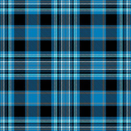 Blue,Black,White and Gray Tartan Plaid Scottish Seamless Pattern. Texture from tartan, plaid, tablecloths, shirts, clothes, dresses, bedding, blankets and other textile.