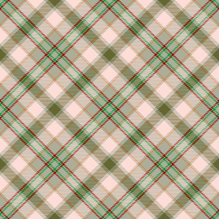 Khaki,Beige,Red,Green and Orange Tartan Plaid Scottish Seamless Pattern. Texture from tartan, plaid, tablecloths, shirts, clothes, dresses, bedding, blankets and other textile.