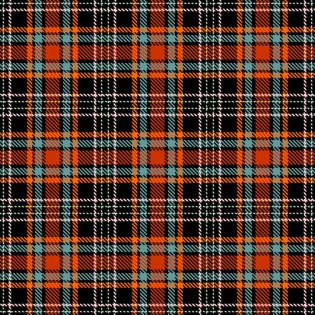 Red,Black,Orange,Blue-Gray and Beige Tartan Plaid Scottish Seamless Pattern. Texture from tartan, plaid, tablecloths, shirts, clothes, dresses, bedding, blankets and other textile.