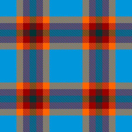 Blue,Orange,Red and Green Tartan Plaid Scottish Seamless Pattern. Texture from tartan, plaid, tablecloths, shirts, clothes, dresses, bedding, blankets and other textile.