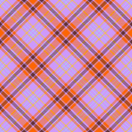 Purple,Orange,Brown,Yellow and Blue Tartan Plaid Scottish Seamless Pattern. Texture from tartan, plaid, tablecloths, shirts, clothes, dresses, bedding, blankets and other textile.