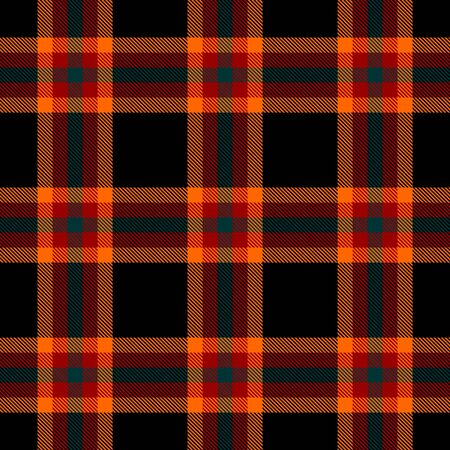Black,Orange,Red and Green Tartan Plaid Scottish Seamless Pattern. Texture from tartan, plaid, tablecloths, shirts, clothes, dresses, bedding, blankets and other textile.