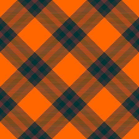 Orange,Brown and Dark Green Tartan Plaid Scottish Seamless Pattern. Texture from tartan, plaid, tablecloths, shirts, clothes, dresses, bedding, blankets and other textile.