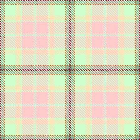 Pink,Green,Khaki,Beige and Red Tartan Plaid Scottish Seamless Pattern. Texture from tartan, plaid, tablecloths, shirts, clothes, dresses, bedding, blankets and other textile.