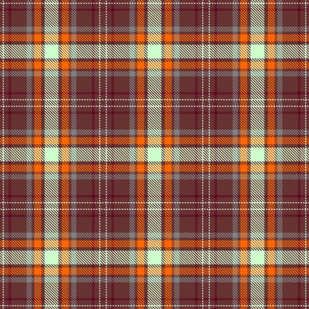 Brown,Orange,Green,Gray and Red Tartan Plaid Scottish Seamless Pattern. Texture from tartan, plaid, tablecloths, shirts, clothes, dresses, bedding, blankets and other textile.