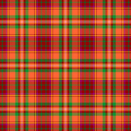 Red,Orange,Green and Yellow Tartan Plaid Scottish Seamless Pattern. Texture from tartan, plaid, tablecloths, shirts, clothes, dresses, bedding, blankets and other textile.