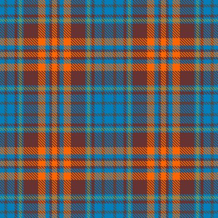 Blue,Orange,Brown and Green Tartan Plaid Scottish Seamless Pattern. Texture from tartan, plaid, tablecloths, shirts, clothes, dresses, bedding, blankets and other textile.