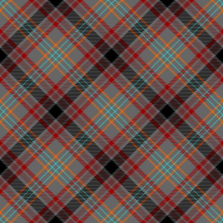 Gray,Red,Black,Orange,Brown and Blue Tartan Plaid Scottish Seamless Pattern. Texture from tartan, plaid, tablecloths, shirts, clothes, dresses, bedding, blankets and other textile.