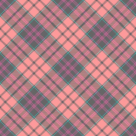 Pink,Gray,Purple and Blue Tartan Plaid Scottish Seamless Pattern. Texture from tartan, plaid, tablecloths, shirts, clothes, dresses, bedding, blankets and other textile.