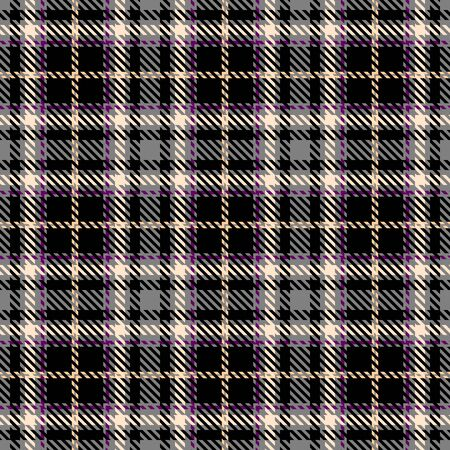Black,White,Gray and Purple Tartan Plaid Scottish Seamless Pattern. Texture from tartan, plaid, tablecloths, shirts, clothes, dresses, bedding, blankets and other textile.