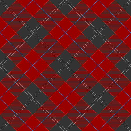 Red,Gray and Blue Tartan Plaid Scottish Seamless Pattern. Texture from tartan, plaid, tablecloths, shirts, clothes, dresses, bedding, blankets and other textile.