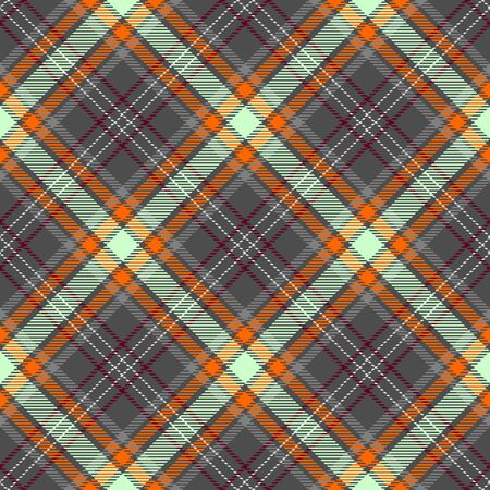 Gray,Dark Orange,Beige and Dark Red Tartan Plaid Scottish Seamless Pattern. Texture from tartan, plaid, tablecloths, shirts, clothes, dresses, bedding, blankets and other textile.