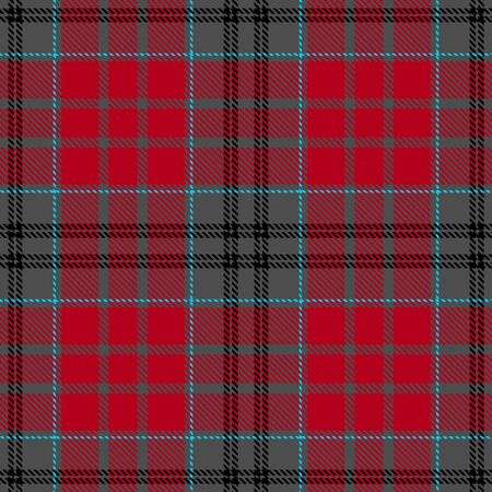 Red,Gray,Black and Blue Tartan Plaid Scottish Seamless Pattern. Texture from tartan, plaid, tablecloths, shirts, clothes, dresses, bedding, blankets and other textile. Çizim