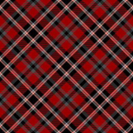 Red,Gray,Black and Pink Tartan Plaid Scottish Seamless Pattern. Texture from tartan, plaid, tablecloths, shirts, clothes, dresses, bedding, blankets and other textile. Çizim