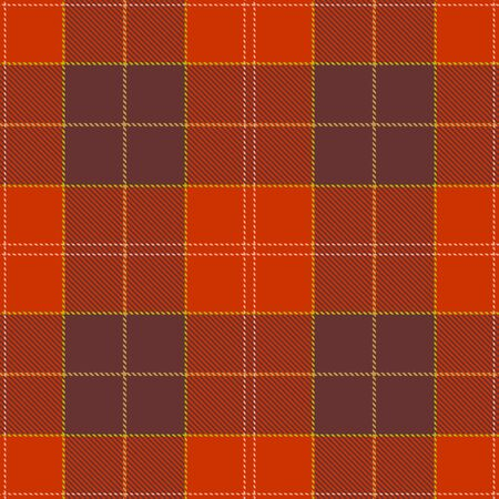 Brown and Red Tartan Plaid Scottish Seamless Pattern. Texture from tartan, plaid, tablecloths, shirts, clothes, dresses, bedding, blankets and other textile.
