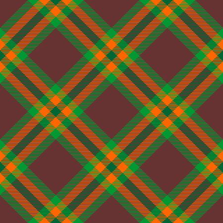Brown,Green and Orange Tartan Plaid Scottish Seamless Pattern. Texture from tartan, plaid, tablecloths, shirts, clothes, dresses, bedding, blankets and other textile.