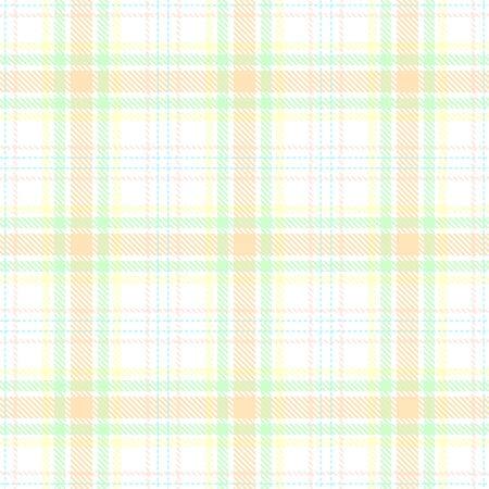 White,Beige,Green and Yellow Tartan Plaid Scottish Seamless Pattern. Texture from tartan, plaid, tablecloths, shirts, clothes, dresses, bedding, blankets and other textile.