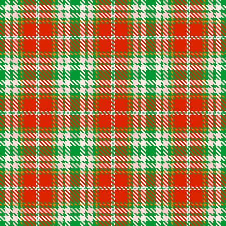Red,Green,Pink and Orange Tartan Plaid Scottish Seamless Pattern. Texture from tartan, plaid, tablecloths, shirts, clothes, dresses, bedding, blankets and other textile. Çizim