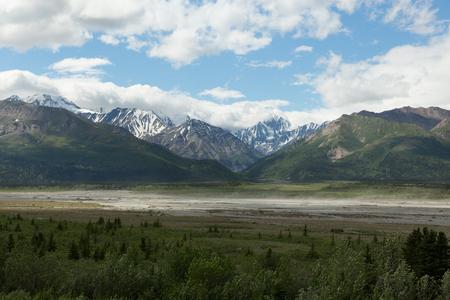 Alaskan Glacier Valley