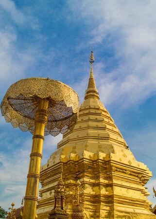 doi: Phra That Doi Suthep in Chiang Mai thailand