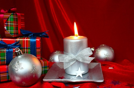 composition: Christmas composition Stock Photo