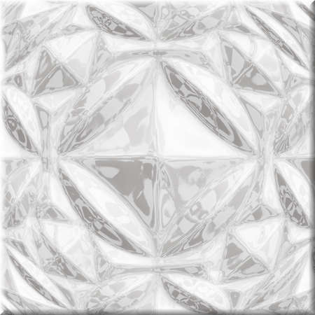 terrazzo: Seamless patterned texture in the form of a square tile,