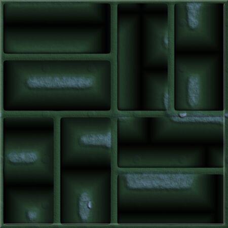 terrazzo: Ornate seamless texture in a square tile
