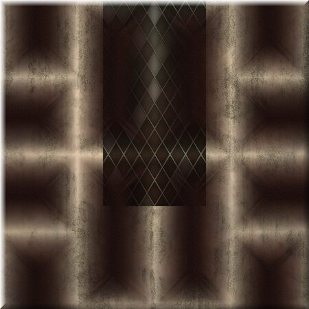 Ornate seamless texture in a square tile photo