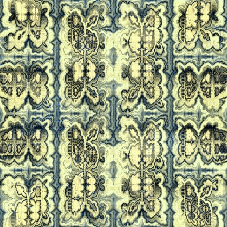 Ornate seamless texture in a square tile,