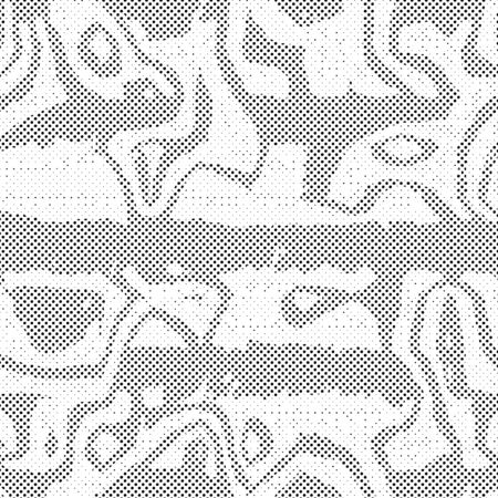 terrazzo: Ornate seamless texture of dots in a square