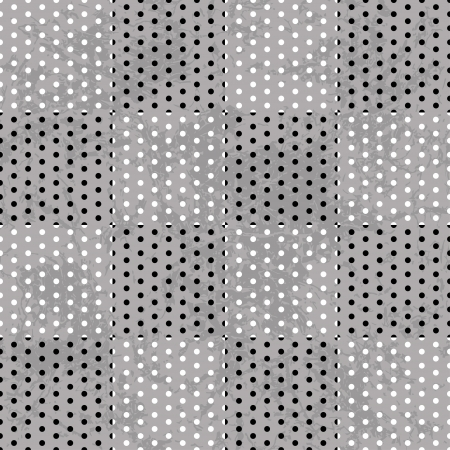 terrazzo: Ornate seamless texture in the form of square tiles,