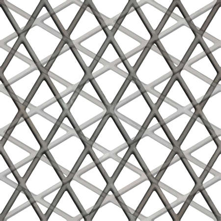 terrazzo: Seamless patterned square lattice in the form of a frame