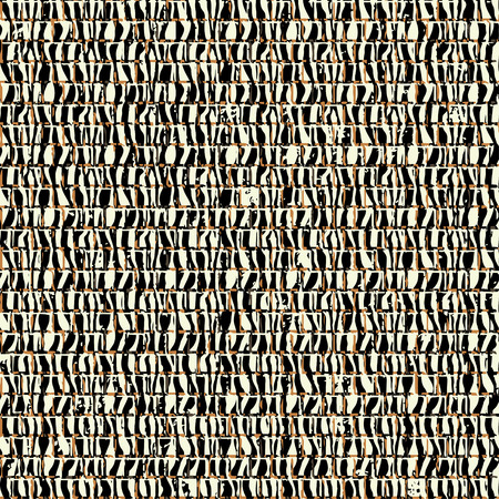 Seamless striped frame in the form of square tiles; Vector