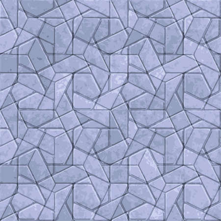 Seamless patterned frame texture in the form of square tiles Vector
