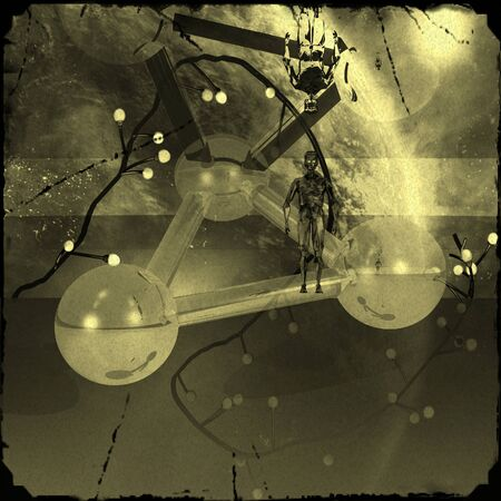 mysticism: Mystical picture Old Photo aliens