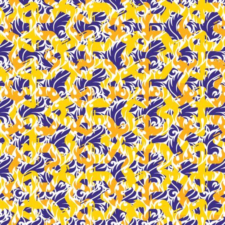 patterned: Patterned creative texture of a square tiles Illustration