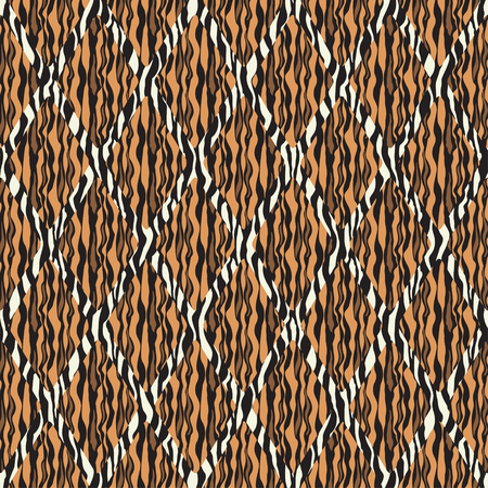 patterned: Patterned texture of the strips in a square tile Illustration