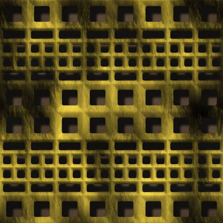 ventilation: Decorative ventilation grille in the form of a square Stock Photo