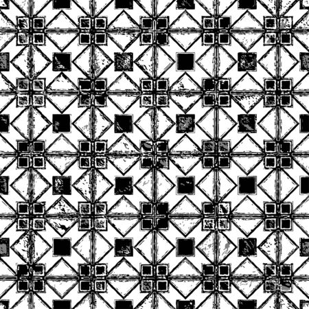 patterned: Creative patterned texture in the form of square tiles