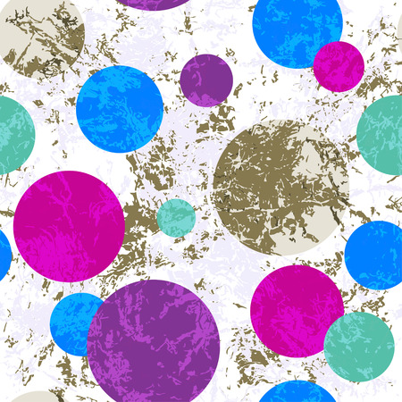 Grungy white background with colorful balloons, vector eps 10 Illustration