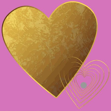 Decorative image for Valentines day Illustration