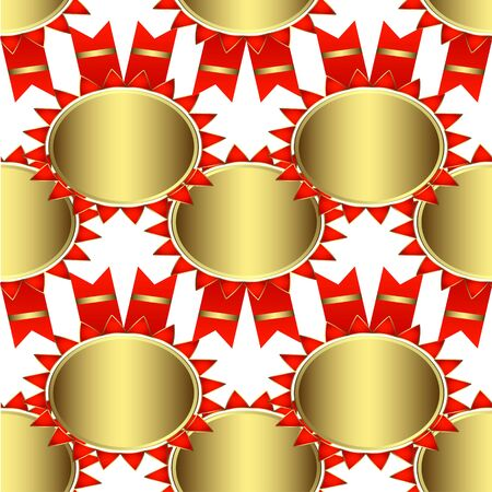 Creative patterned background in the form of a square tile (vector eps 10)