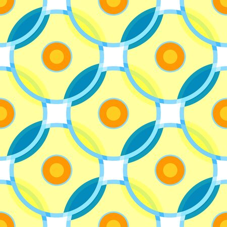 Seamless patterned texture in the form of a square tile (vector eps 10) Illustration