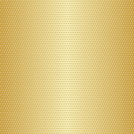 Shiny gold gradient metal circles seamless pattern with golden rings. Vector eps 8 向量圖像